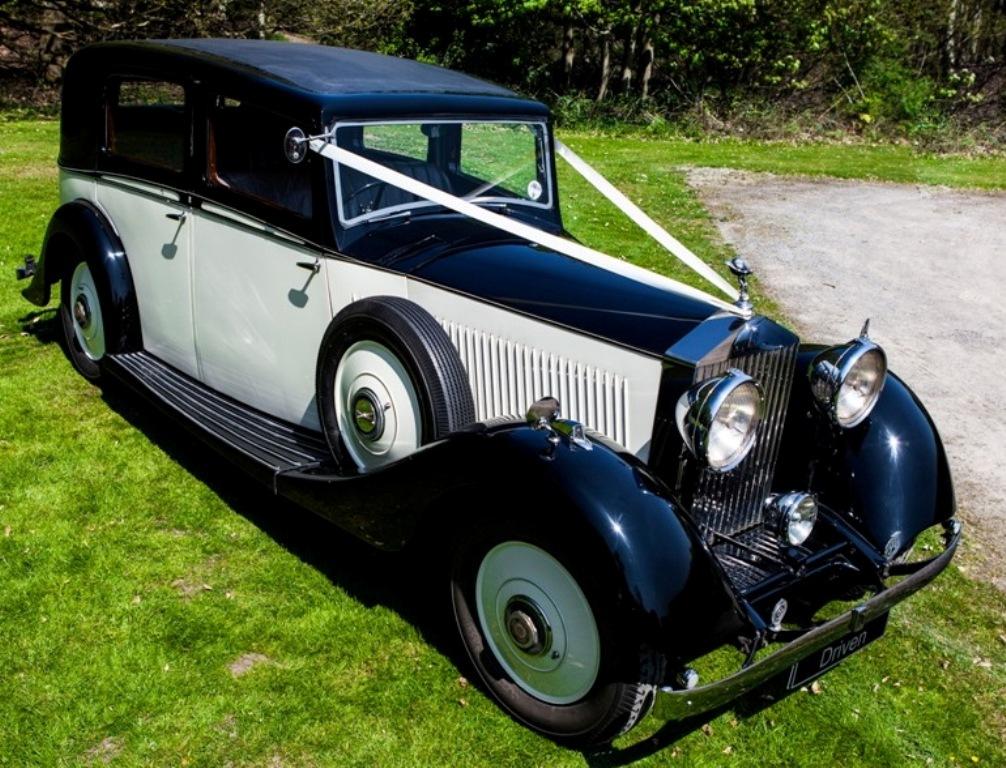 1935 Rolls Royce Vintage Wedding Car In Potters Bar Hertfordshire